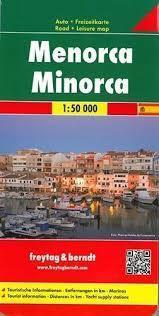 MINORKA MENORCA mapa samochodowa 1:50 000 FREYTAG & BERNDT