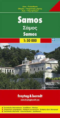 SAMOS mapa samochodowa 1:50 000 FREYTAG & BERNDT
