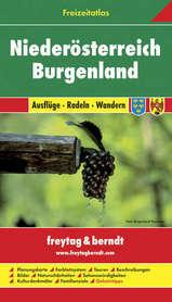 DOLNA AUSTRIA - BURGENLANDIA atlas z przewodnikiem 1:50 000-1:200 000 FREYTAG & BERNDT