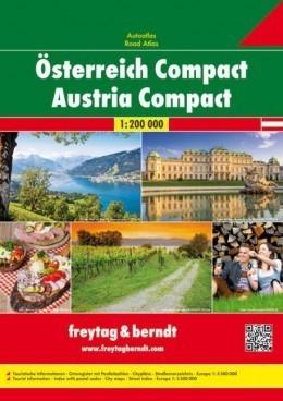AUSTRIA COMPACT atlas samochodowy 1:200 000 FREYTAG & BERNDT