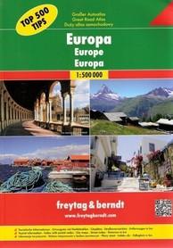 EUROPA atlas samochodowy 1:500 000 FREYTAG&BRENDT