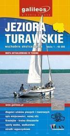 JEZIORA TURAWSKIE mapa turystyczna 1:40 000 PLAN wodoodporna
