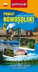 POWIAT NOWOSOLSKI mapa turystyczna 1:60 000 STUDIO PLAN