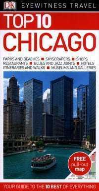 CHICAGO przewodnik TOP 10 DK ang