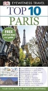 PARYŻ PARIS przewodnik TOP 10 DK ang 2014