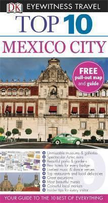 MEKSYK MEXICO CITY przewodnik TOP 10 DK ang