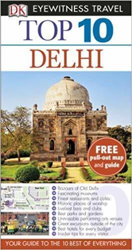 DELHI przewodnik z mapą TOP10 DK