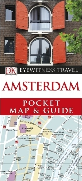 AMSTERDAM Pocket Map and Guide - przewodnik i mapa DK 2014