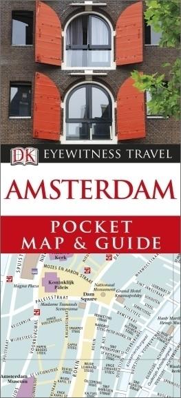 AMSTERDAM Pocket Map and Guide - przewodnik i mapa DK 2014