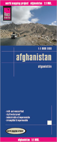 AFGANISTAN mapa 1:1 000 000 REISE KNOW HOW