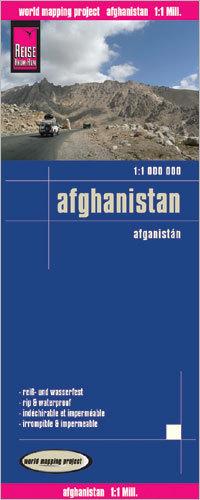 AFGANISTAN mapa 1:1 000 000 REISE KNOW HOW