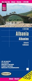 ALBANIA mapa 1:220 000 REISE KNOW HOW 2020