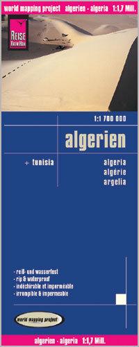 ALGIERIA i Tunezja mapa 1:1 700 000 REISE KNOW HOW