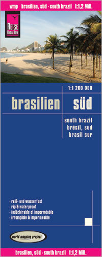 BRAZYLIA POŁUDNIOWA mapa 1:1 200 000 REISE KNOW HOW