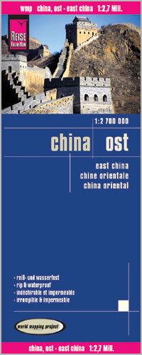 CHINY WSCHODNIE mapa 1:2 700 000 REISE KNOW HOW