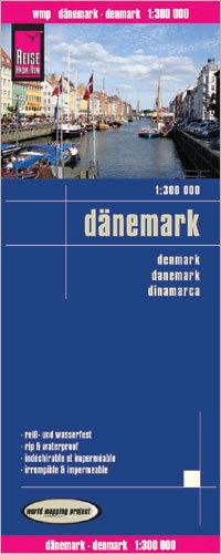 DANIA mapa 1:300 000 REISE KNOW HOW