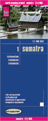 INDONEZJA CZ. 1 - SUMATRA mapa 1:1 100 000 REISE KNOW HOW