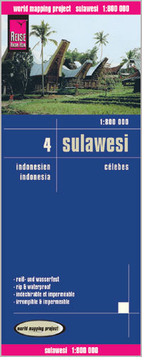 INDONEZJA CZ. 4 - SULAWESI mapa 1:800 000 REISE KNOW HOW