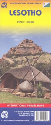 LESOTHO mapa 1:350 000 ITMB