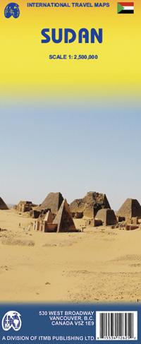 SUDAN mapa 1:2 500 000 ITMB