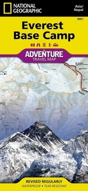 EVEREST BASE CAMP Adventure Map NATIONAL GEOGRAPHIC