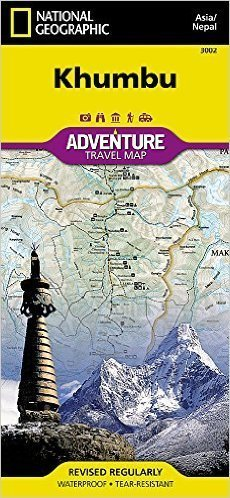 KHUMBU Adventure Map NATIONAL GEOGRAPHIC
