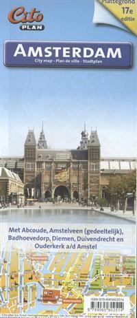 AMSTERDAM plan miasta 1:14 700 CITO