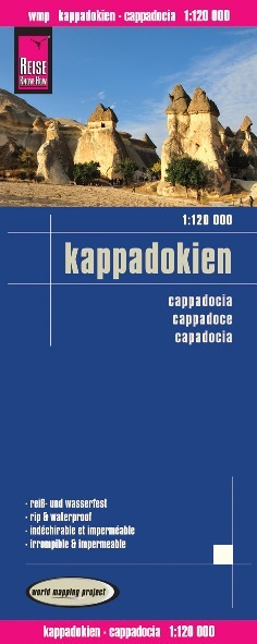 KAPADOCJA mapa 1:120 000 REISE KNOW HOW