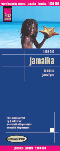 JAMAJKA mapa 1:150 000 REISE KNOW HOW