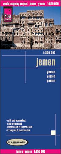 JEMEN mapa 1:850 000 REISE KNOW HOW