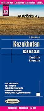 KAZACHSTAN mapa 1:2 000 000 REISE KNOW HOW 2019