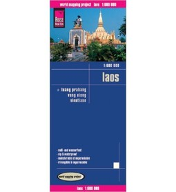 LAOS mapa 1:600 000 REISE KNOW HOW