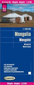 MONGOLIA mapa 1:1 600 000 REISE KNOW HOW