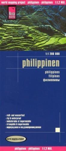 FILIPINY mapa 1:1 200 000 REISE KNOW HOW