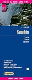 ZAMBIA mapa 1:1 000 000 REISE KNOW HOW