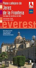 JEREZ DE LA FRONTERA plan miasta/mapa prowincji EVEREST