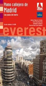 MADRYT plan miasta EVEREST HISZPANIA