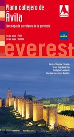 AVILA plan miasta/mapa prowincji EVEREST