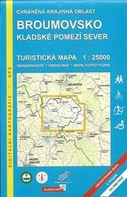 BROUMOVSKO mapa turystyczna 1:25 000 Geodezie On Line
