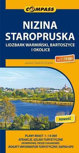 NIZINA STAROPRUSKA mapa turystyczna 1:75 000 COMPASS