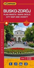 BUSKO ZDRÓJ I OKOLICE mapa turystyczna 1:75 000 COMPASS 2016