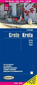 KRETA mapa 1:140 000 REISE KNOW HOW 2019