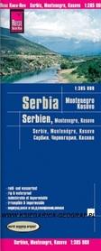 SERBIA CZARNOGORA KOSOWO mapa 1:385 000 REISE KNOW HOW 2019