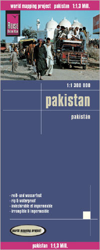 PAKISTAN mapa 1:1 300 000 REISE KNOW HOW