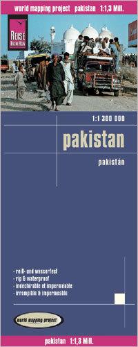PAKISTAN mapa 1:1 300 000 REISE KNOW HOW