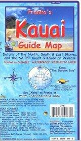KAUAI (HAWAJE) mapa wodoodporna 1:160 000 FRANCO