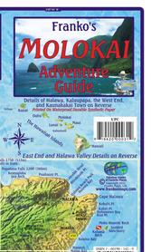 MOLOKAI (HAWAJE) mapa wodoodporna FRANCO