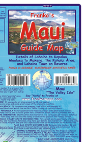 MAUI (HAWAJE) mapa wodoodporna FRANCO