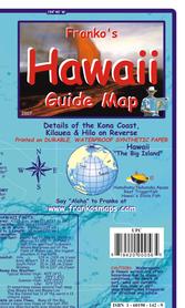 HAWAJE THE BIG ISLAND mapa wodoodporna FRANCO