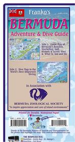 BERMUDY Bermuda mapa wodoodporna FRANCO